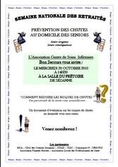 affiche prévention des chutes 2010