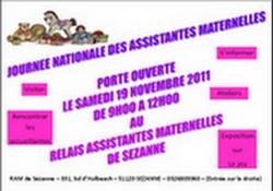 affiche porte ouvertes RAM Sézanne 2011